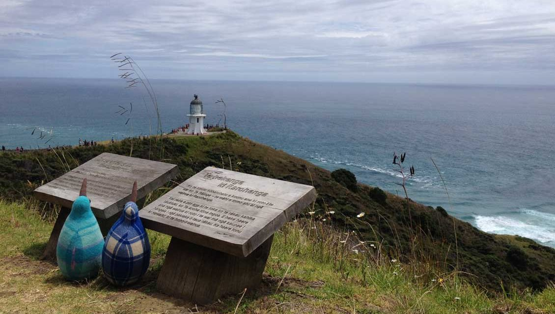Visit Cape Reinga, where two great oceans meet
